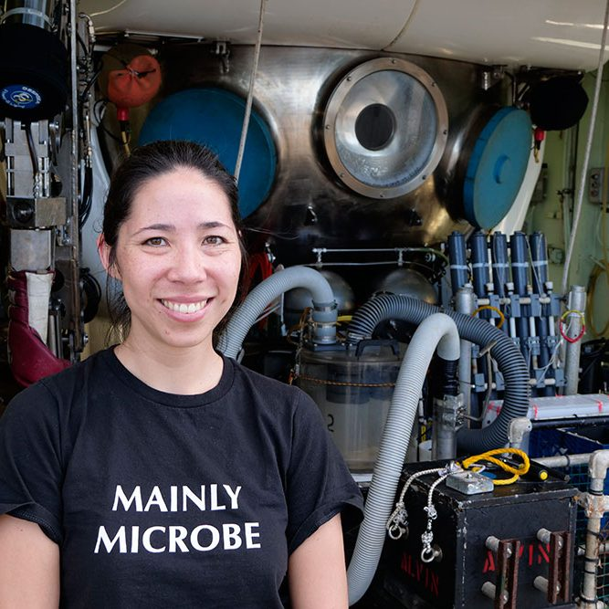 Photo Credit: (Rika Anderson of Carleton College/Ken Kostel Woods Hole Oceanographic Institution)